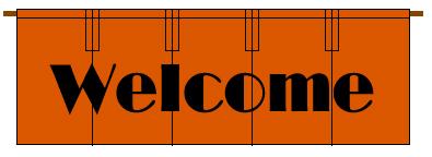 歓迎を示す